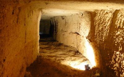 Les Tunnels Antiques Romains